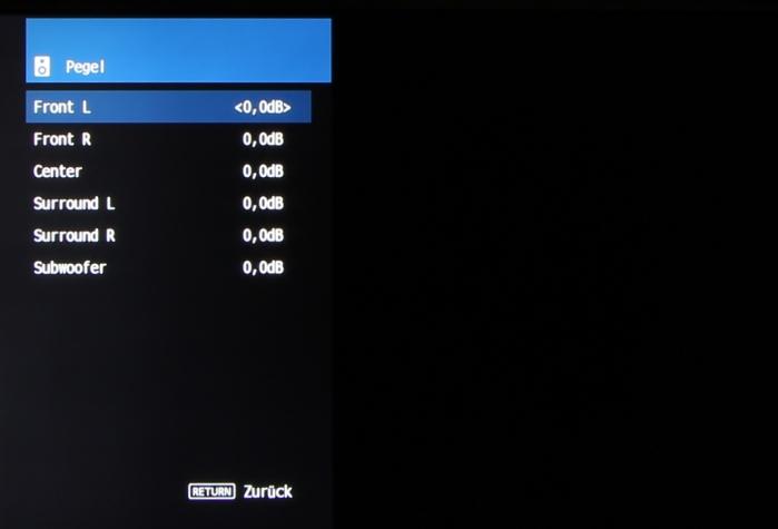 Yamaha RX-V483 Screenshot 5