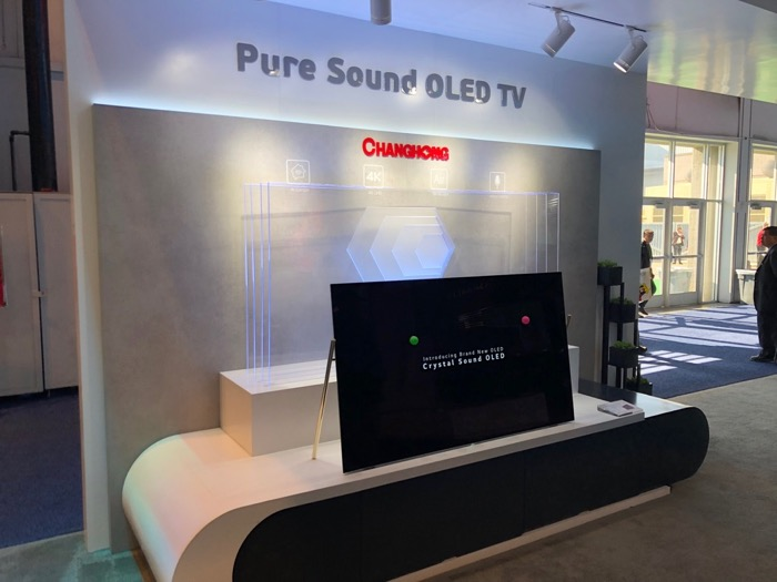 Changhong Pure Sound OLED