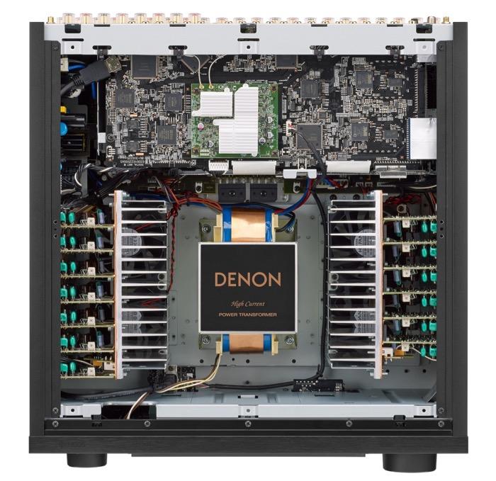 Denon 8500 inside