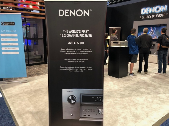 Denon AVR-X8500 ankuendigung
