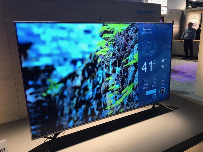 Hisense TV Alexa Demo