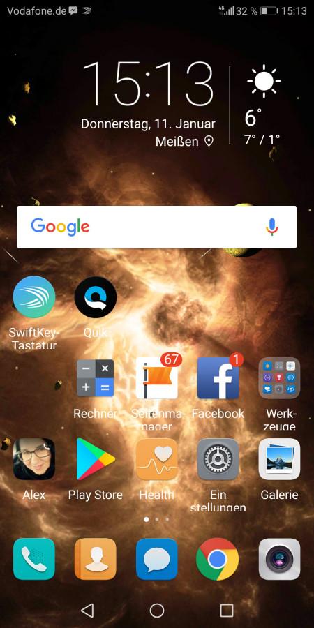Huawei Mate 10 Lite Screenshot