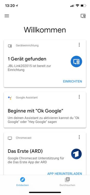 JBL Link 20 Google Assistant 1