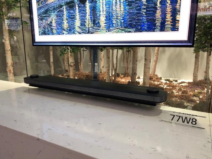 LG 77W8 Soundbar