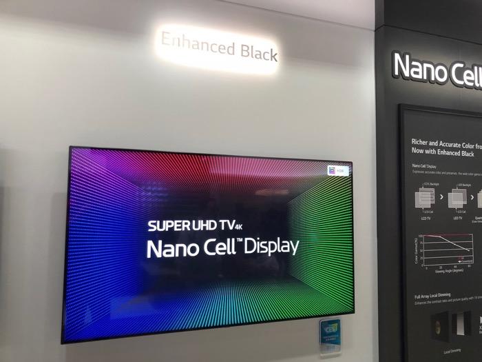 LG Super UHD TV Black