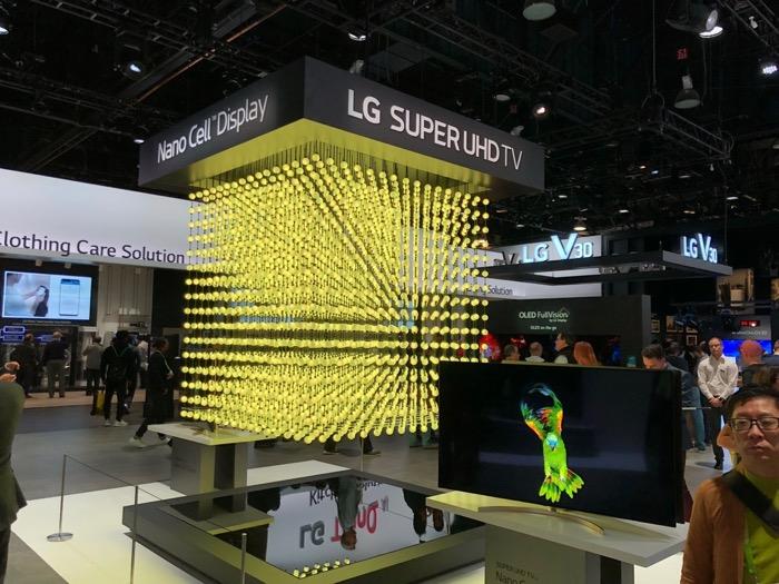 LG Super UHD TV CES1