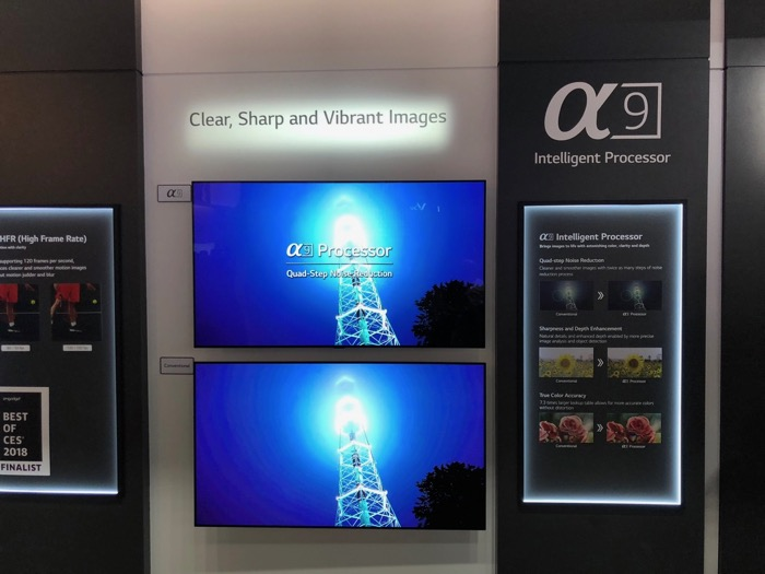 LG a9 CPU Demonstration