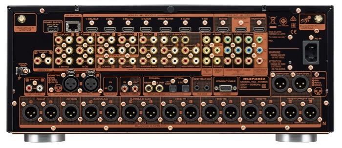 Marantz AV8805 back