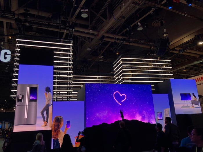 Samsung CES Show