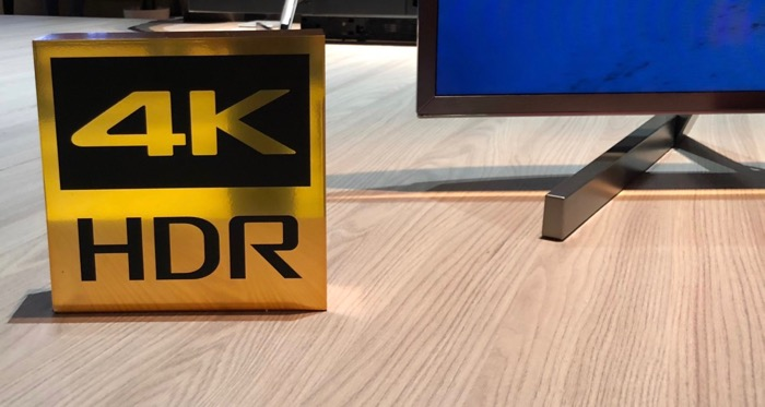 Sony 4K HDR