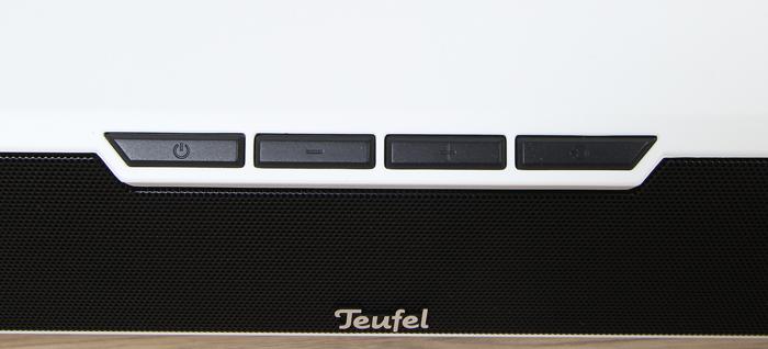 Teufel-Cinebar-Duett-Soundbar-Bedienelemente