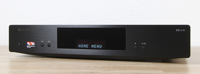Cambridge Audio CX UHD Front Seitlich1