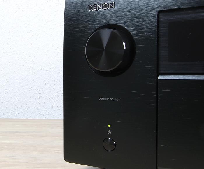 Denon AVC-X8500H Bedienelemente Front2
