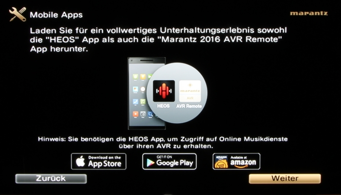 Marantz SR8012 Screenshot 20