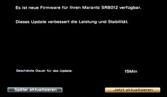Marantz SR8012 Screenshot 21