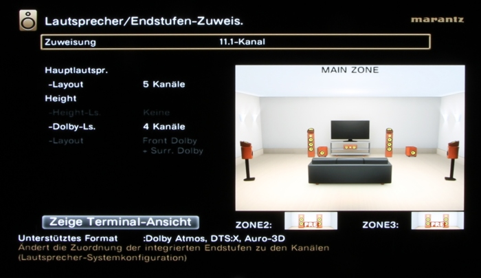 Marantz SR8012 Screenshot 28
