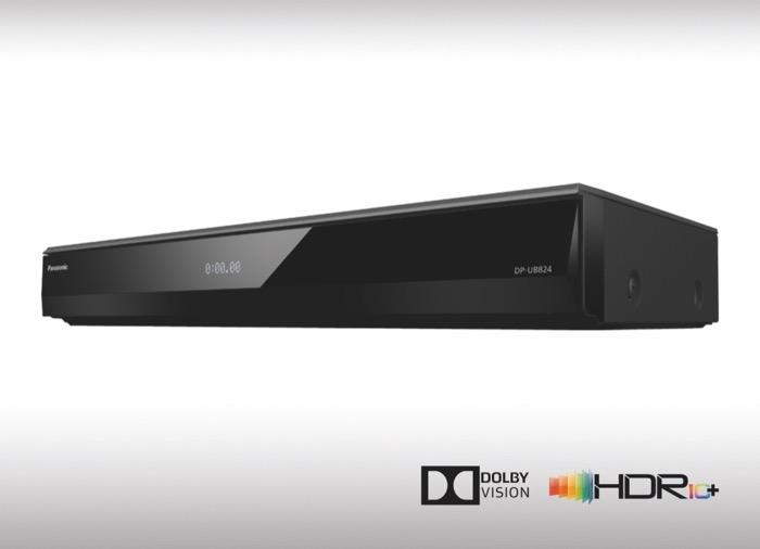 Panasonic UHD BD Player 824 HDR10+