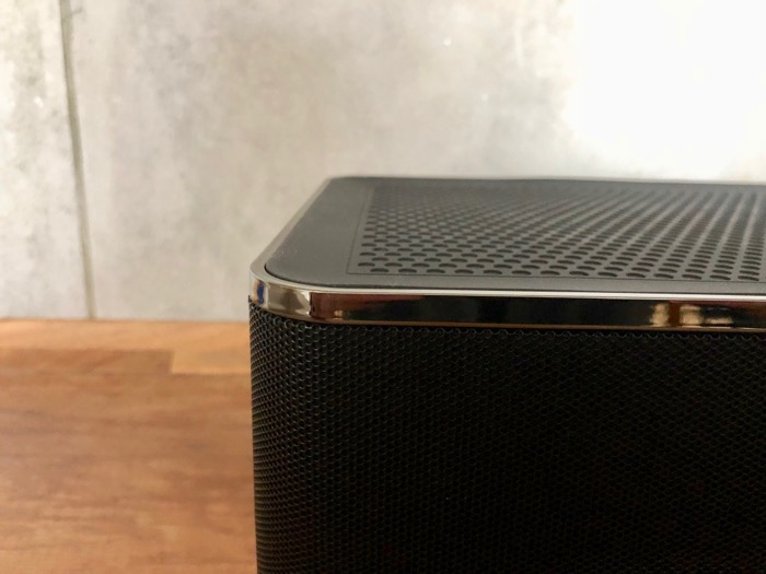 Elac Discovery Z3 Finish Detail oben