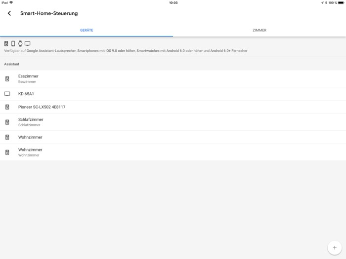 JBL Link 300 App iPad2