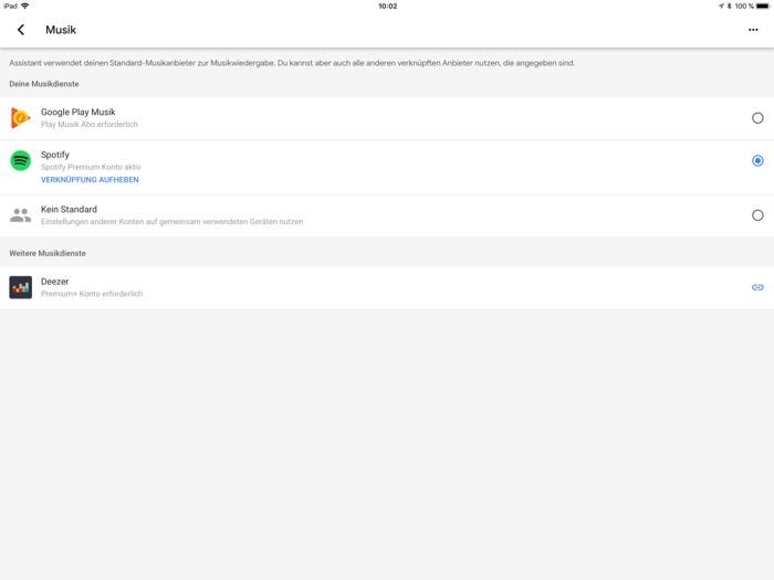 JBL Link 300 App iPad4