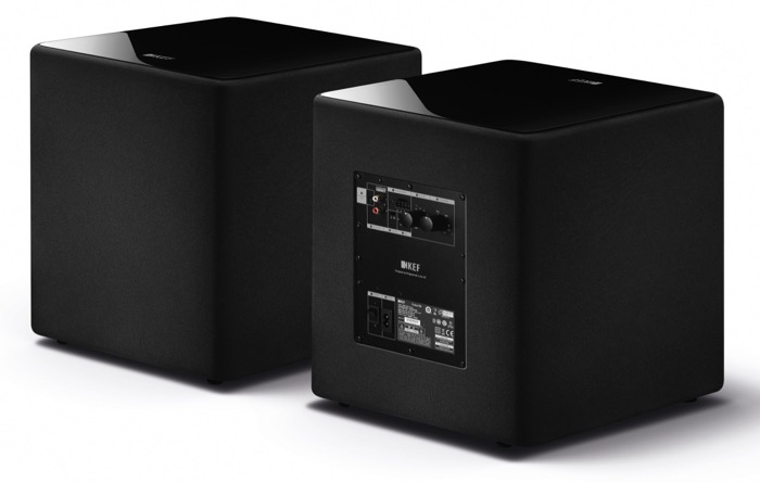 KEF Kube 10 front back