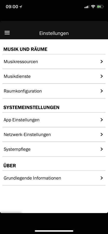 Teufel Raumfeld App 18