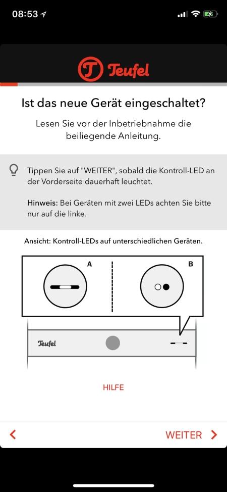 Teufel Raumfeld App 2