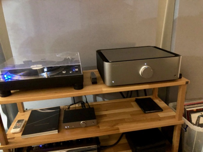 Cambridge Audio Edge A Setup