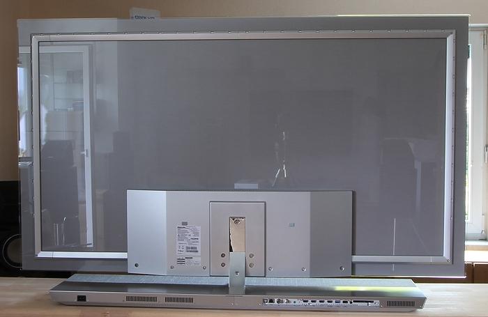 Philips 65OLED973 Rueckseite Seitlich