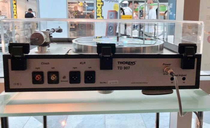 Thorens TD907 back