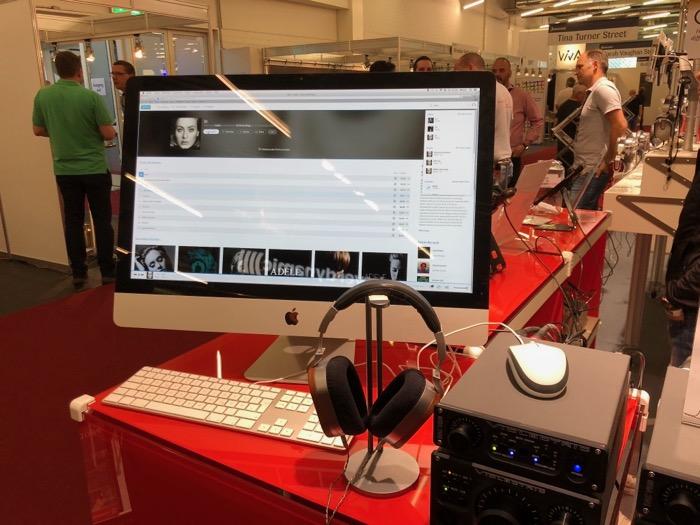 Ultrasone ED15 Hoerstation iMac