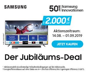 Samsung Jubiläums-Deal Cashback